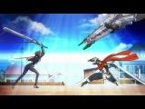 Горизонт посреди пустоты / Kyokai Senjo no Horizon 1 сезон 1 серия (Eladiel & JAM)